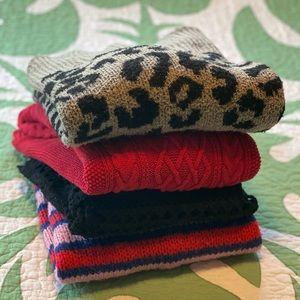 Maternity Sweater Bundle (4) Size Large B1